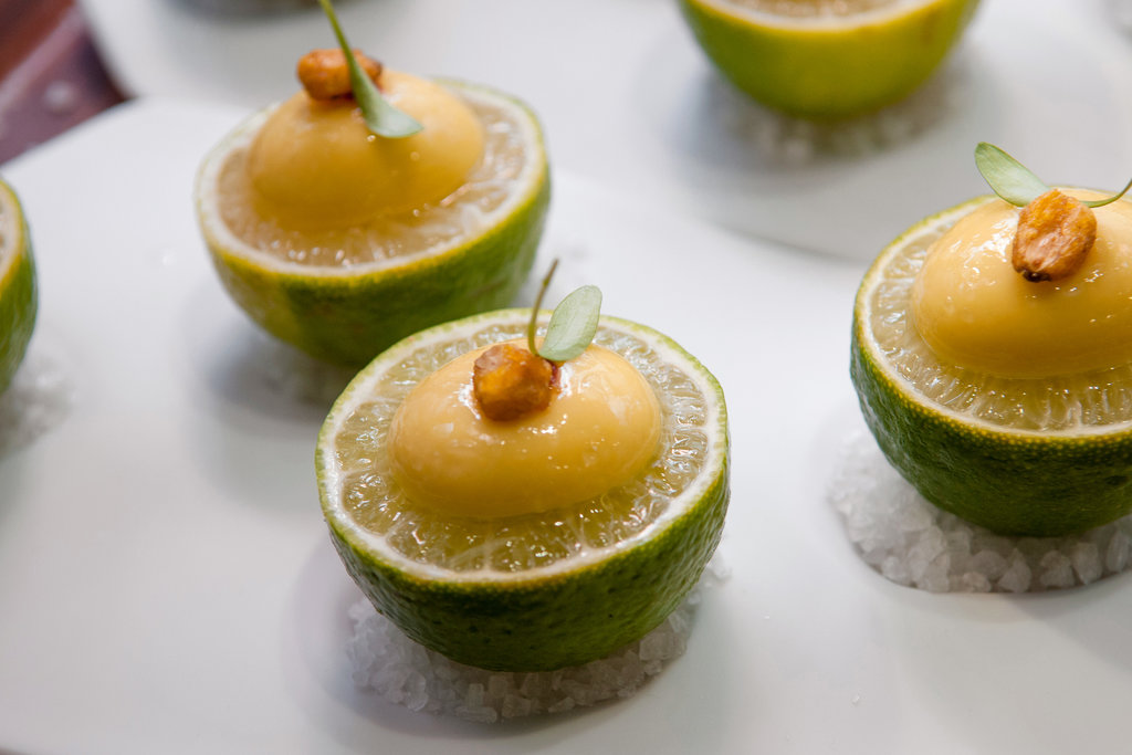 ''Trip to Mexico'' canapes.