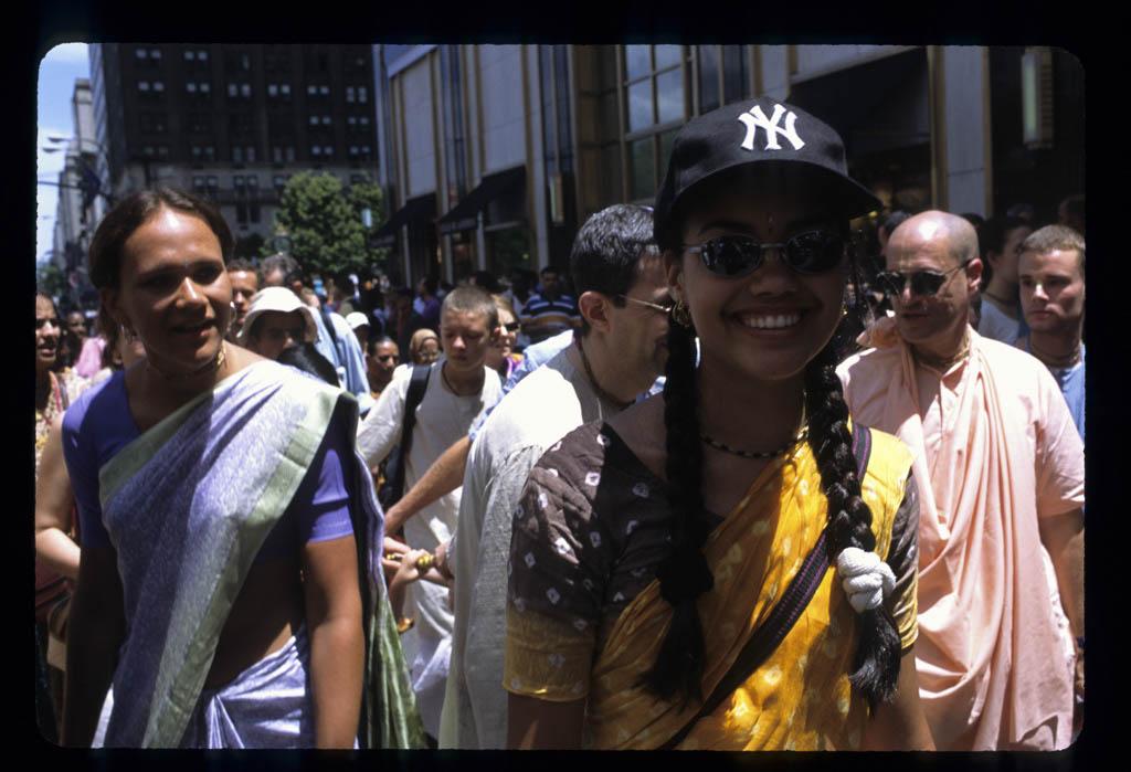 Hare Krishna Parade, Fifth Ave.