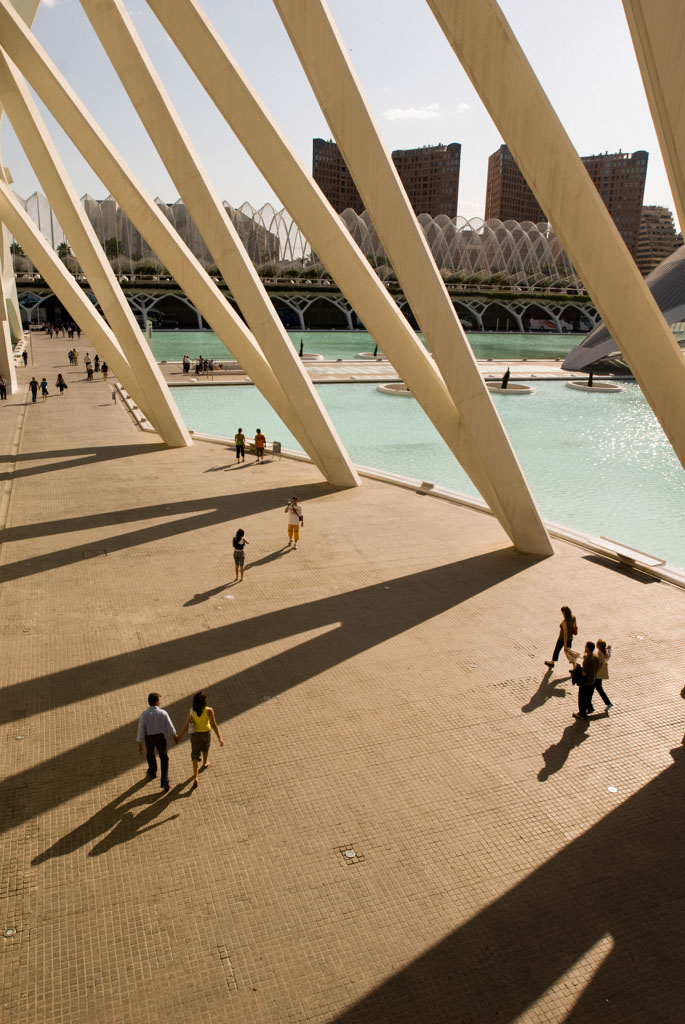 The City of Arts and Sciences, from the Principe Felipe Museum