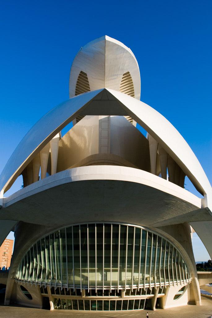 Palau de les Arts Reina SofÌa, City of Arts and Sciences, Valencia, Spain