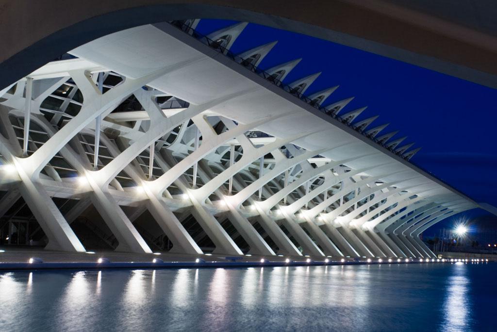 PrÌncipe Felipe Science Museum, City of Arts and Sciences, Valencia, Spain