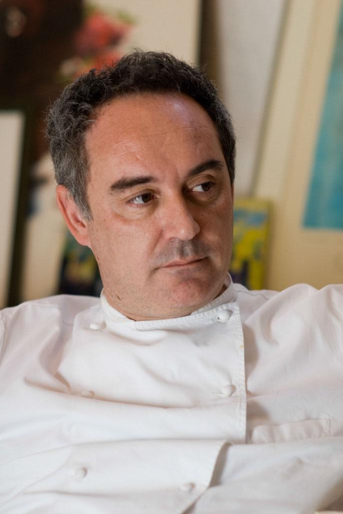 Ferran Adrià is the famous chef at El Bulli, a restaurant on the coast of Catalonia