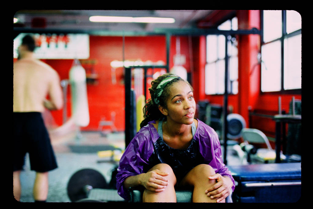 girl at Gleason'Gym, Brooklyn