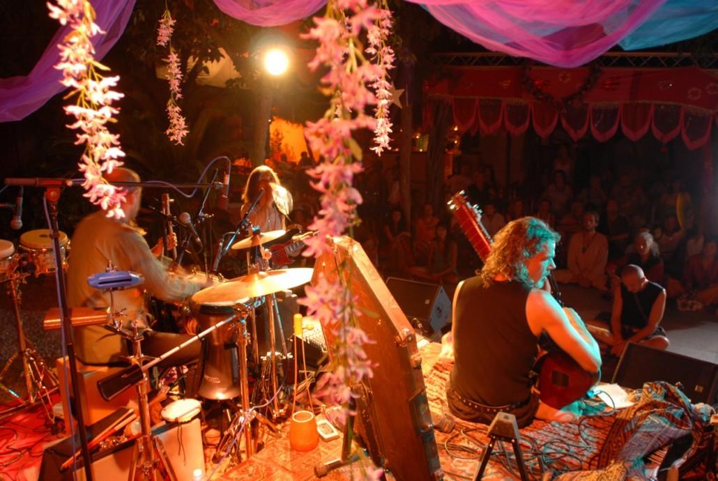 Bohemian party at Las Dalias