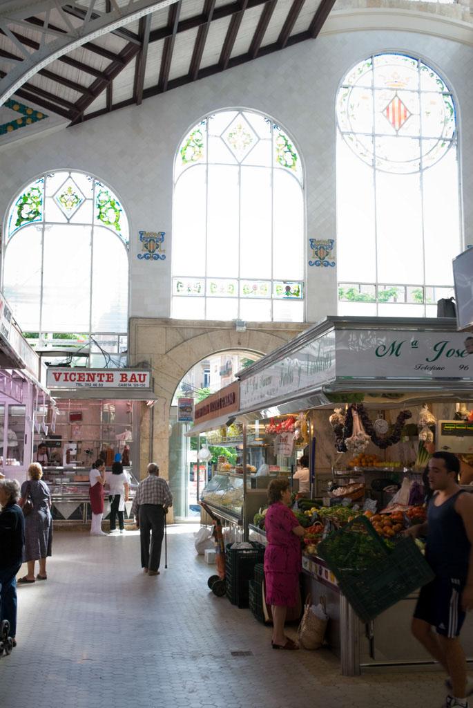 The Central Market, Valencia, Spain