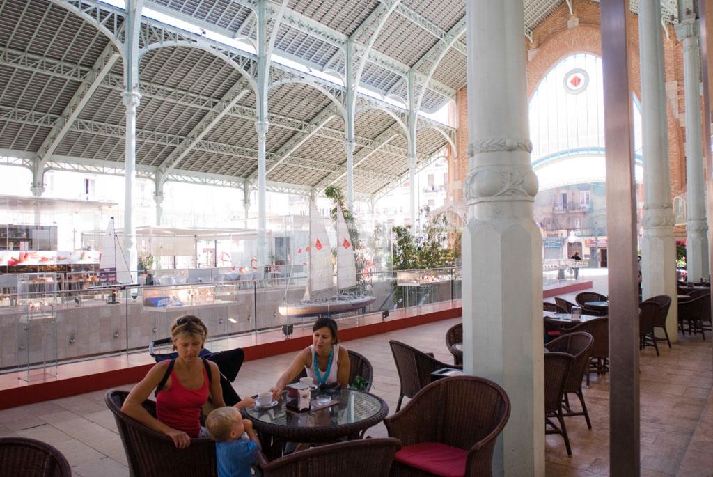 Mercado de ColÛn, Valencia, Spain