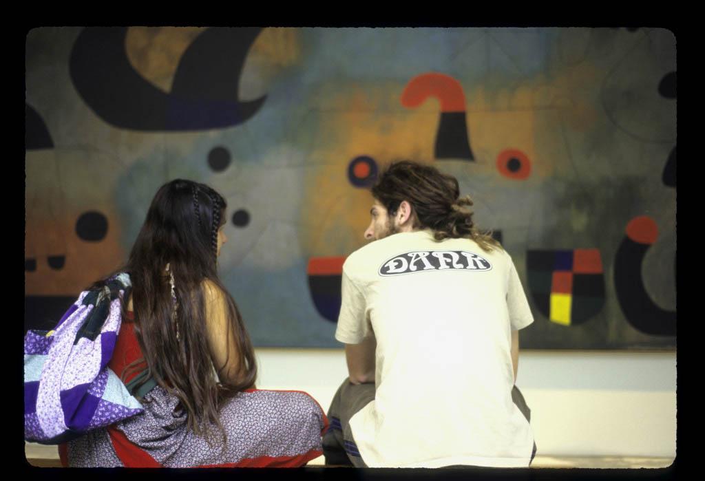 Couple at MOMA