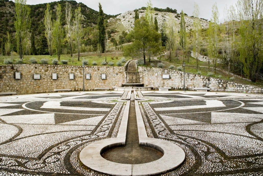 Guerra civile, foto di Stefano Buonamici: Il o García Lorca a Alfacar, il luogo dell'uccisione e della probabile sepoltura.