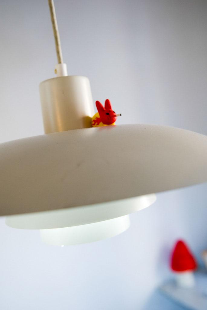 second-hand lamp: Original PH lamp by Danish designer Poul Henningsen (1894-1967), found in Copenhagen