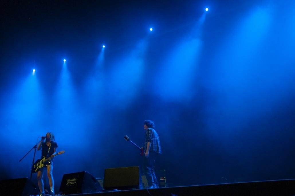 Barcelona, Spain. Primavera Sound 2014. Body/Head band at the Rockdelux auditorium.