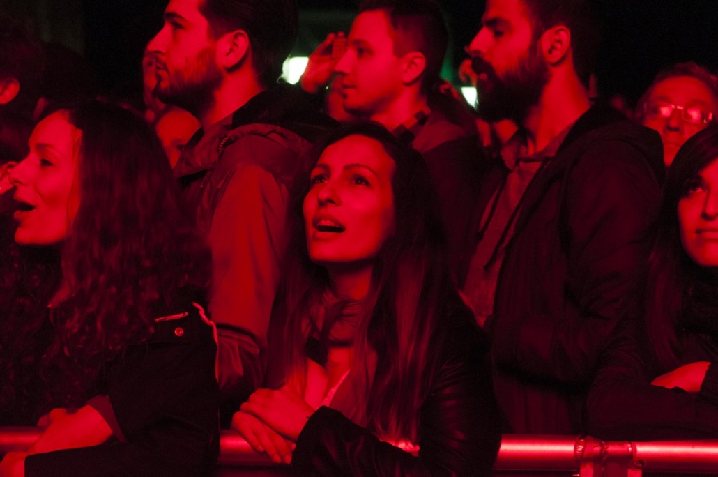 Barcelona, Spain. Primavera Sound 2014. Public at The National band concert.