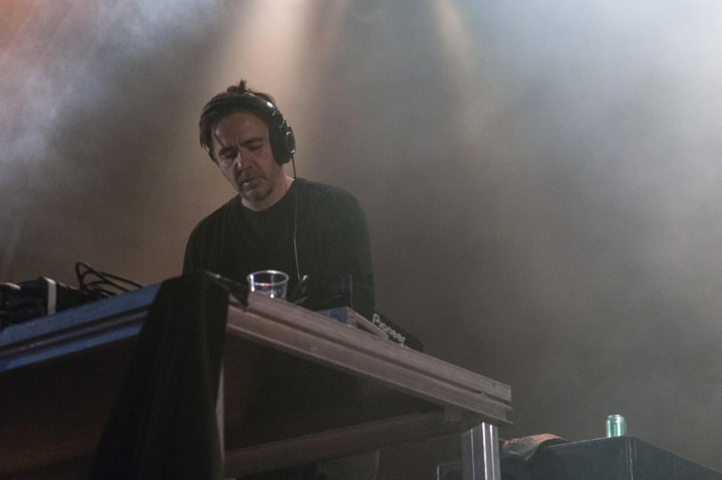 Barcelona, Spain. Primavera Sound 2014. Laurent Garnier show.