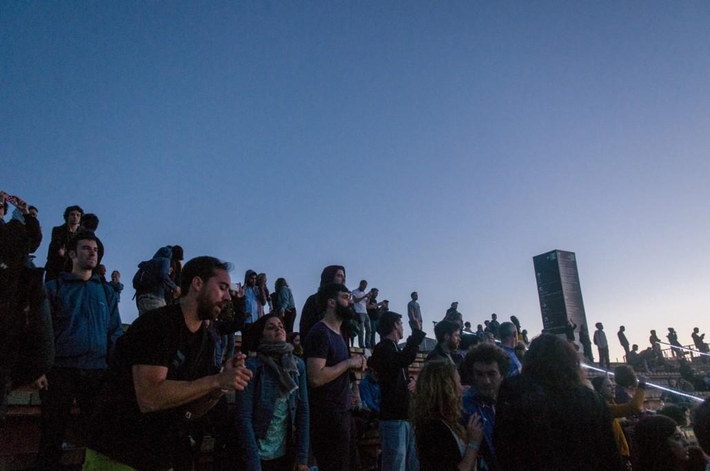 Barcelona, Spain. Primavera Sound 2014. Laurent Garnier concert at the festival.