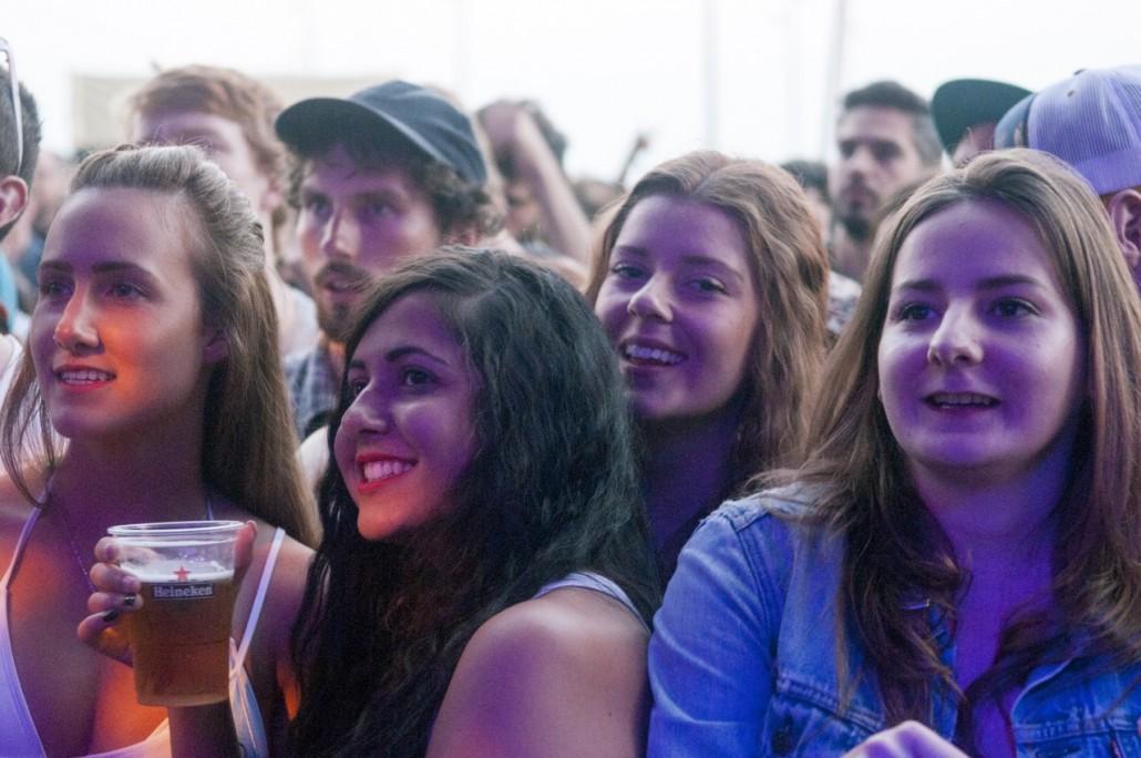 Barcelona, Spain. Primavera Sound 2014. Public at the Earl Sweatshirt concert.