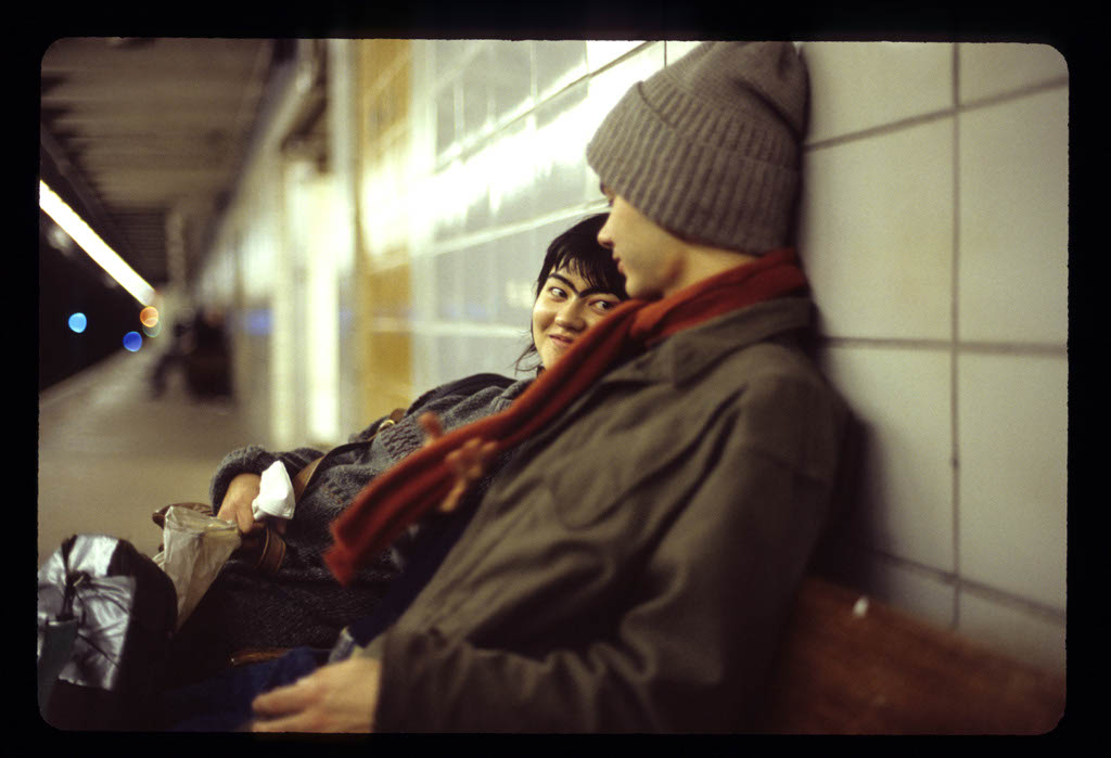 couple in the Subway