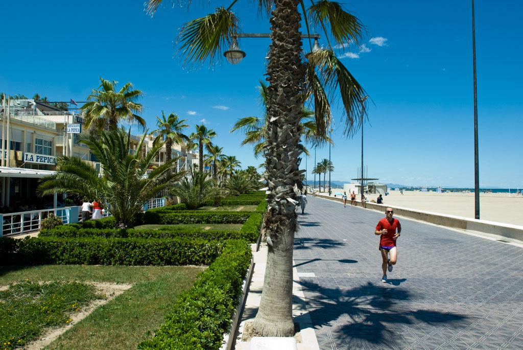 the beach, Valencia, Spain