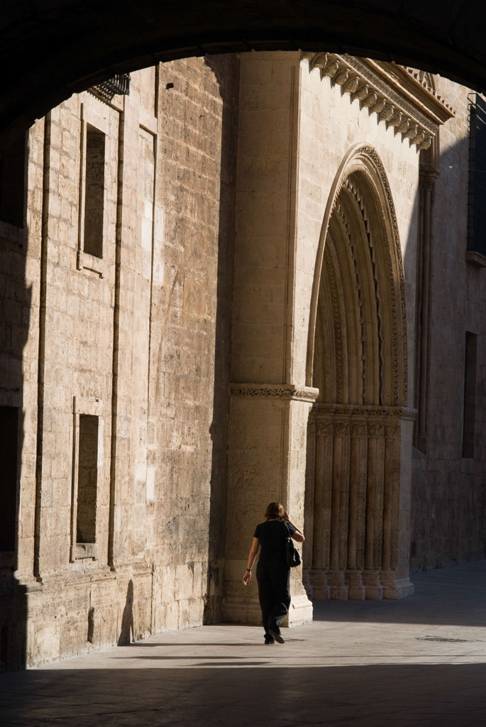 Cathedral west entrance, valencia, Spain