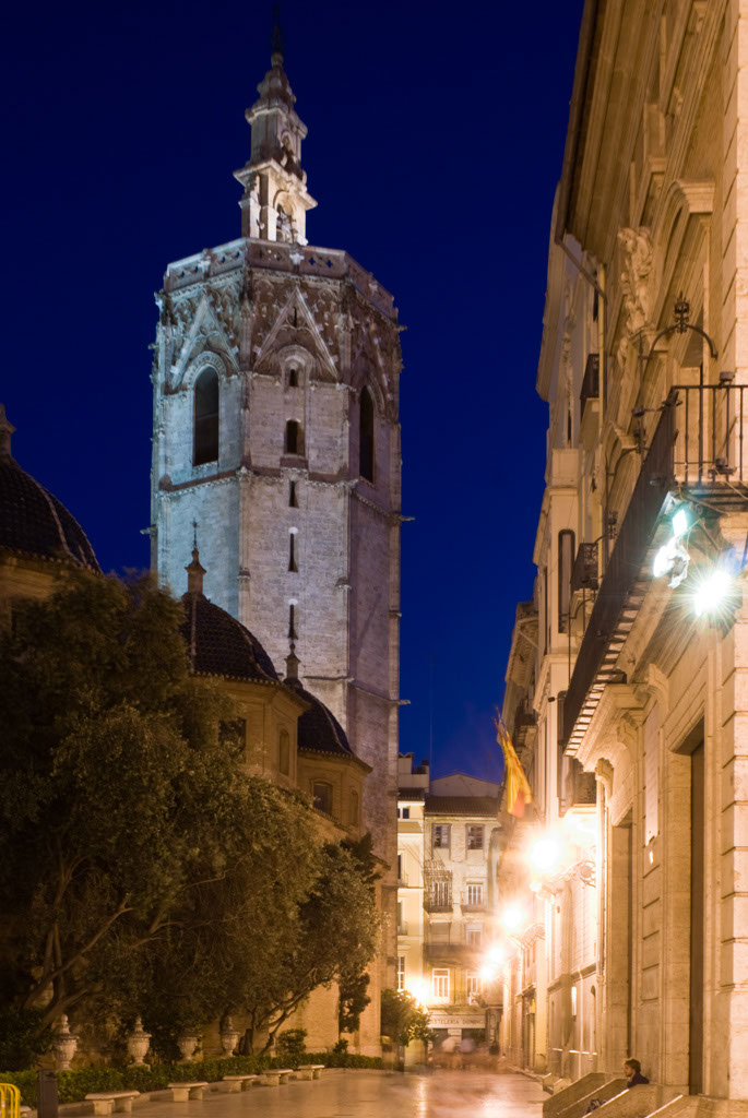 cathedral tower (El Micalet), Valencia, Spain